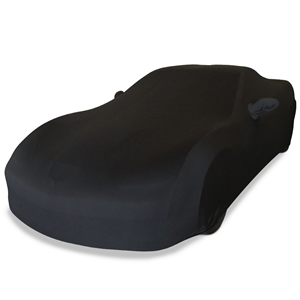 Corvette Ultraguard Stretch Satin Car Cover- Black - Indoor :  2005-2013 C6, Z06, ZR1, Grand Sport