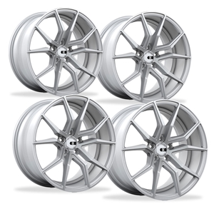 Corvette Wheels - XO Luxury - Verona (Set) : Brushed Silver