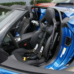 2014-2015 C7 Corvette Z06, Grand Sport 4 pt. Roll Bar - NHRA/SCCA/NASA Legal : Convertible