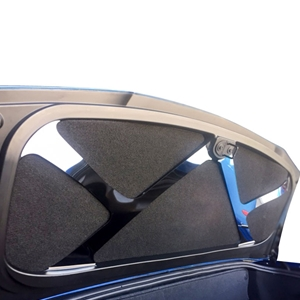 2014, 2015, 2016, 2017 C7 Corvette Stingray, Z51 Convertible Trunk Lid Brace - Brushed or Polished
