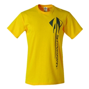 C7 Corvette Stingray Vertical T-shirt : Velocity Yellow - 2014+