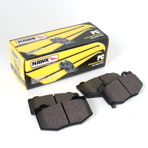 Corvette Brake Pads - Hawk Ceramic - Rear : C7 Stingray, Z51, Z06, Grand Sport