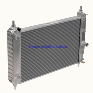 Corvette Direct Fit Short Radiator : 2005-2011 C6, Z06