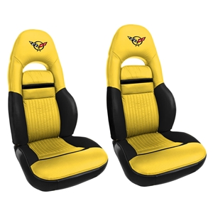 Corvette OE Style Leather Pace Car Sport Seat Covers : 1998 C5
