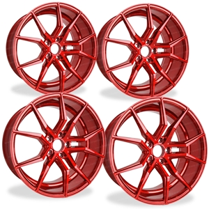 Corvette Wheels - XO Luxury - Verona (Set) : Custom Color, C5, C6, C7
