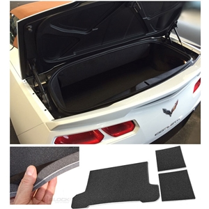 "2014,2015,2016,2017, C7 Corvette ""Drop In"" Noise Deadening Mats - BLOCKIT : Convertible Stingray, Z51 & Z06"