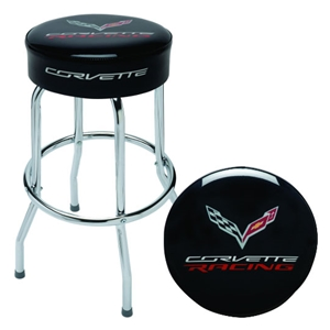 2014, 2015, 2016, 2017 C7 Corvette Racing Counter/Pub Stool