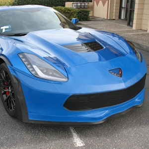Corvette SpeedLingerie Super Bra - Nose Cover - Stage 3 w/Grille Camera : C7 Z06, 2015, 2016, 2017