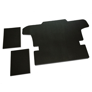 "Corvette Blockit ""Quick & Quiet"" Pre Cut Sound Deadening Mats : 1997-2004 C5 Coupe, Convertible"