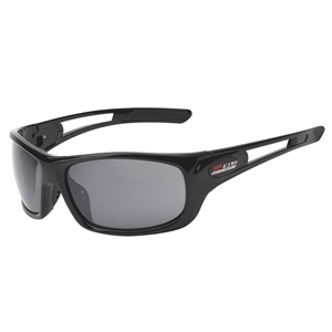 Corvette Full Frame Sunglasses - Gloss Black : C7 Z06 Logo
