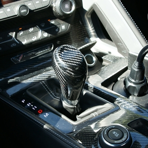 2014, 2015, 2016, 2017, C7 Corvette Stingray, Z51, Z06, Grand Sport - Shift Knob : Carbon Fiber