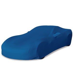 Corvette Ultraguard Stretch Satin Car Cover - Medium Blue - Indoor :  2005-2013 C6, Z06, ZR1, Grand Sport