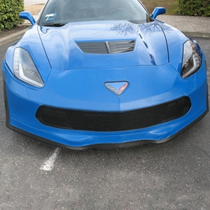Corvette SpeedLingerie Super Bra - Nose Cover - Stage 3 w/out Grille Camera : C7 Grand Sport 2017