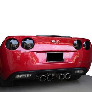Corvette Blackout Kit - Molded Acrylic Rear Taillights : 2005-2013 C6, Z06, ZR1, Grand Sport