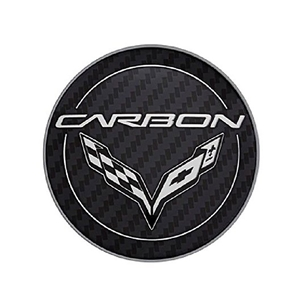 2014, 2015, 2016, 2017 C7 Corvette Stingray - GM Carbon Logo Center Cap