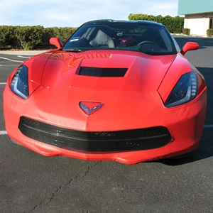 2014, 2015, 2016, 2017 C7 Corvette Stingray, Z51 SpeedLingerie Super Bra - Nose Cover w/Grille Camera