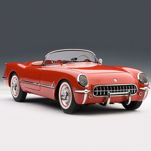 1954 C1 Corvette Red - Die Cast 1:18