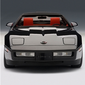 1986 C4 Corvette Black - Die Cast 1:18 Scale Model.