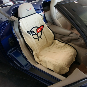 Corvette Seat Armour - Seat Cover/Seat Towels : 1997-2004 C5 & Z06