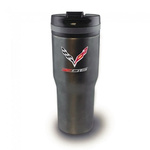 C7 Z06 Corvette Arctix Insulated Tumbler with Titanium Finish