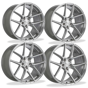 C7 Z06 Corvette ACE Flow Form AFF02 Wheels (Set) - Brushed