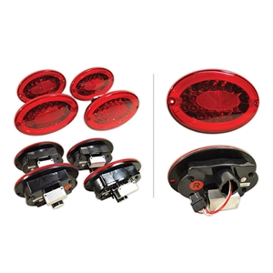 1997-2004 C5 & Z06 Corvette LED Reproduction Taillight Kit