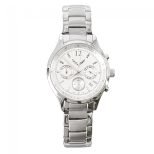 C7 Corvette Ladies Chronograph Watch - Silver