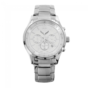 C7 Corvette Men's Chronograph Watch - Silver
