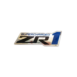 2009-2013 C6 Corvette Supercharged ZR1 Domed Decals