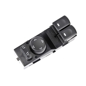 2005-2013 C6 Corvette Driver Window Master Switch - GM OEM Replacement - Black