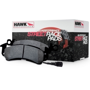 Corvette Brake Pads - Hawk Street Race - Front 1 Pc. : 2006-2013 Z06 & Grand Sport