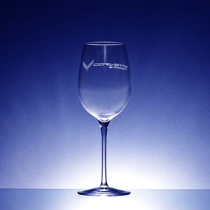 C7 Corvette Crescendo Chardonnay 12.5 oz. Wine Glasses : C7 Stingray, Z06, Grand Sport, ZR1