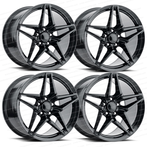 2018 C7 Corvette ZR1 Style Reproduction Wheels (Set) : Carbon Flash