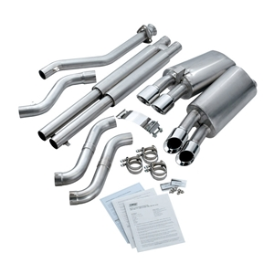 "Corvette Exhaust System - Corsa Dual Exhaust w/ Twin Pro-Series 3.5"" Tips : 1990-95 ZR1"