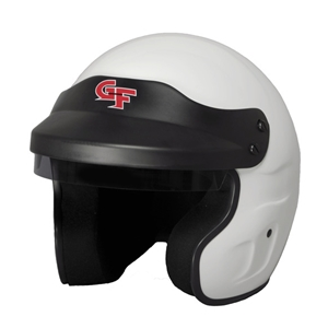 Corvette GF1 Open Face Helmet - G-Force Racing : White