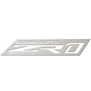 Corvette C7 ZR1 Wall Hanging Emblem : 18 and 36 inch