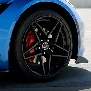 C6, Z06, C7, Z06, Grand Sport Corvette ACE Flow Form V029 Wheels - Piano Black.