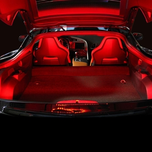 C7 Corvette Cargo Area LED Lighting Kit : Stingray, Z51, Z06, Grand Sport, ZR1