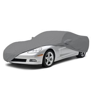 2005-2013 C6 Corvette Coverbond 5, Car Cover with Crossed Flags Logo and Corvette Script
