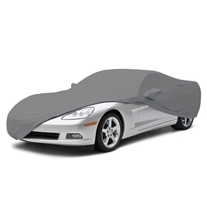 1997-2004 C5 Corvette Coverbond 5, Car Cover with Crossed Flags Logo and Corvette Script