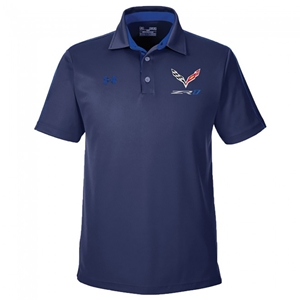 C7 Corvette ZR1 Under Armour®  Tech Polo : Midnight/Royal