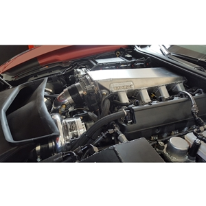 C7 Corvette Z06 ECS 2200X 10-Rib Supercharger Conversion Kit