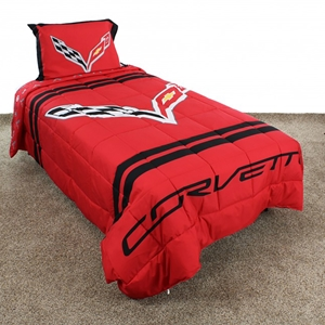 Corvette Reversible Comforter/Pillow Sham Set : C7