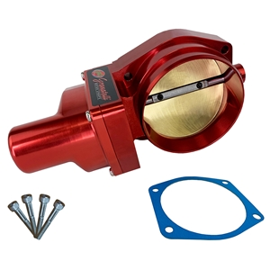 Corvette GM DBW LSX Throttle Body 103MM - Drive-By-Wire : Red