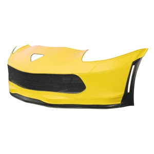 C7 Corvette Z06 or Grand Sport SpeedLingerie Super Bra - Nose Cover - Stage 1 w/Grille Camera
