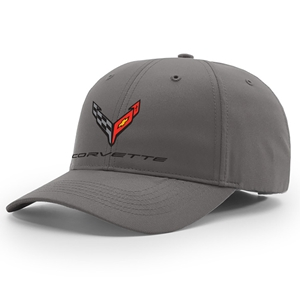 C8 Corvette Next Generation StayDri Performance Hat - Charcoal