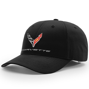 C8 Corvette Next Generation StayDri Performance Hat - Black