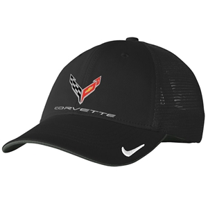 C8 Corvette Next Generation Nike Mesh Hat - Black
