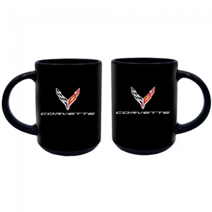 Next Generation Corvette 15 oz. Ceramic Mug - Black.