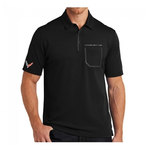 Corvette Next Generation  Men's Ogio Polo : Black